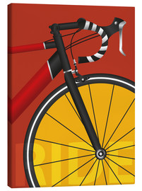 Canvas print  My road bike