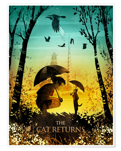 Premium poster The Cat Returns
