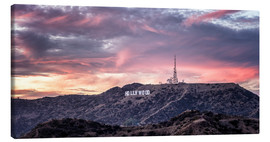 Canvas print  Hollywood Hills - Marcus Sielaff