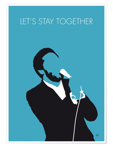 Premium poster Al Green - Let's Stay Together