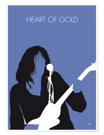 Premium poster Neil Young - Heart Of Gold