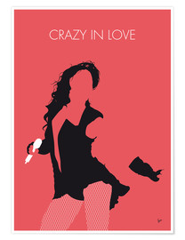 Premium poster Beyoncé - Crazy In Love