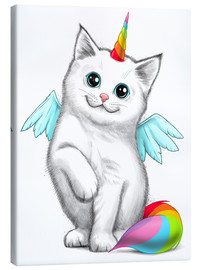 Canvas print  Cat unicorn - Nikita Korenkov