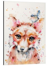 Aluminium print  Little Fox - Sillier Than Sally