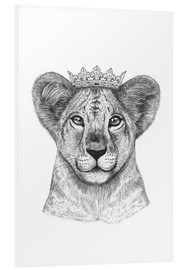 Foam board print  The lion prince - Valeriya Korenkova