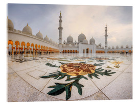 Acrylic print  Sheikh Zayed Grand Mosque