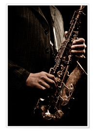 Premium poster  Jazz Players
