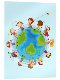 Acrylic print  Children of the world - Kidz Collection