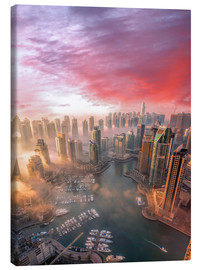 Canvas print  Dubai harbor