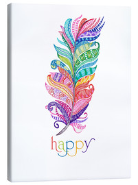 Canvas print  Happy - MiaMia