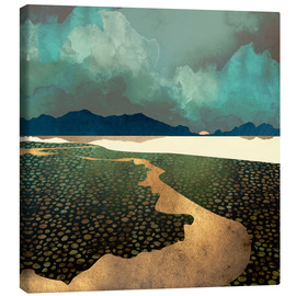 Canvas print  Distant Land - SpaceFrog Designs