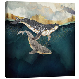 Canvas print  Mother and child II - SpaceFrog Designs