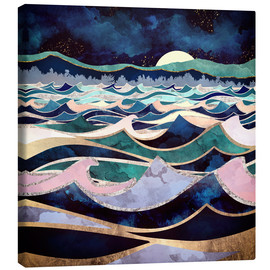 Canvas print  Moonlit Ocean - SpaceFrog Designs