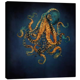 Canvas print  Underwater dream IV - SpaceFrog Designs