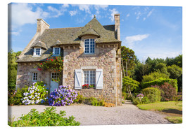 Canvas print  Country house in the summer