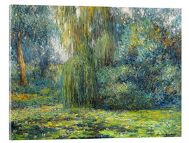 Acrylic print  Water Lilies - Blanche Hoschede-Monet