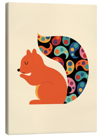 Canvas print  Paisley Squirrel - Andy Westface
