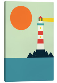 Canvas print  Lighthouse - Andy Westface