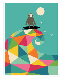 Premium poster  Surf Up - Andy Westface