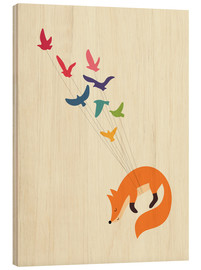 Wood print  Dreams Come True - Andy Westface