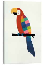 Canvas print  Rainbow Parrot - Andy Westface