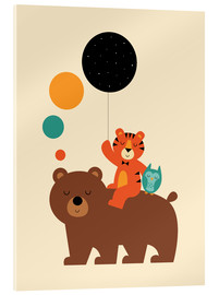 Acrylic print  The little explorers - Andy Westface