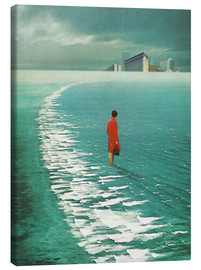 Canvas print  Waiting For The Cities To Fade Out - Frank Moth
