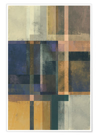 Premium poster Abstract Geometry No 19