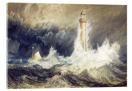 Acrylic print  Bell Rock Lighthouse - Joseph Mallord William Turner