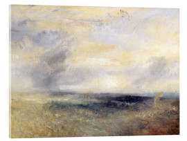 Acrylic print  Margate from the Sea - Joseph Mallord William Turner