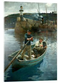 Acrylic print  The Lighthouse - Stanhope Alexander Forbes