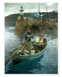 Premium poster  The Lighthouse - Stanhope Alexander Forbes