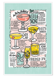 Premium poster  Have A Drink on Me - Cynthia Frenette