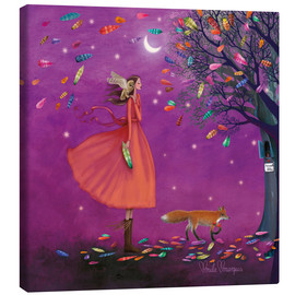 Canvas print  Stormy times - Mila Marquis