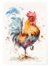 Premium poster  Proud Rooster - Sillier Than Sally