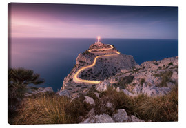Canvas print  Evening light at Cap Formentor (Mallorca / Spain) - Kristian Goretzki