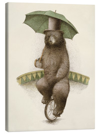 Canvas print  Frederick dancing bear - Eric Fan