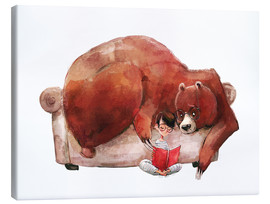 Canvas print  Bed stories - Kidz Collection