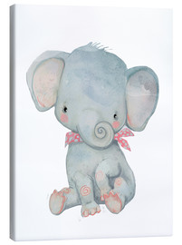 Canvas print  My little elephant - Kidz Collection