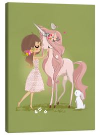 Canvas print  Best friends - Kidz Collection