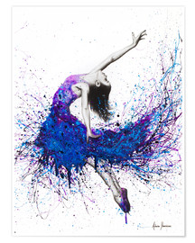 Premium poster Evening sky dancer