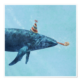 Premium poster  party whale - Terry Fan
