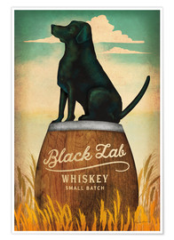 Premium poster  Black Lab Whiskey - Ryan Fowler