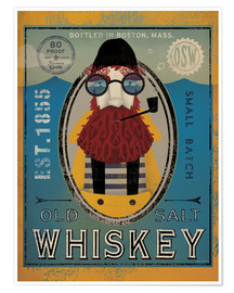 Premium poster  Fisherman IV Old Salt Whiskey - Ryan Fowler
