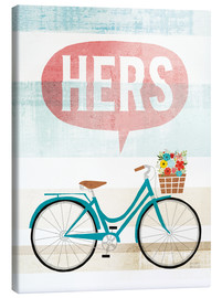 Canvas print  Her bike II - Michael Mullan
