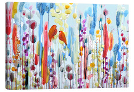 Canvas print  If you asked me to - Sylvie Demers