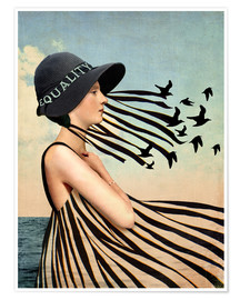 Premium poster  Equality - Catrin Welz-Stein