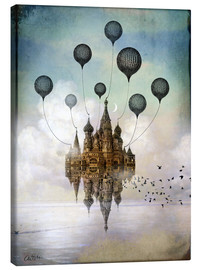 Canvas print  Travel to the East - Catrin Welz-Stein