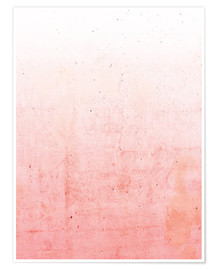 Premium poster Pink ombre