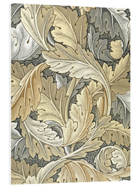 Foam board print  Acanthus - William Morris